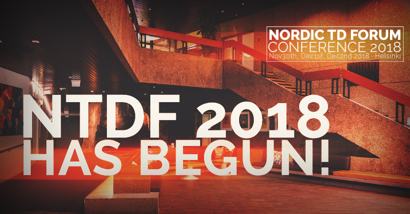 And NTDF 2018 has begun!!!