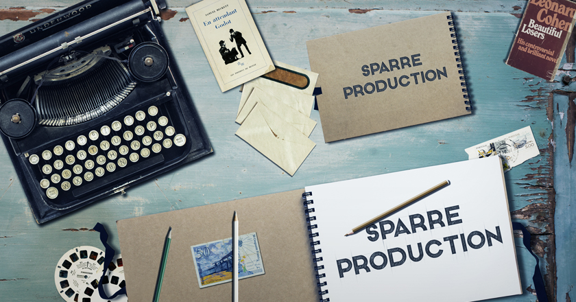 Welcome to the brand spanking new website of Sparre Production!