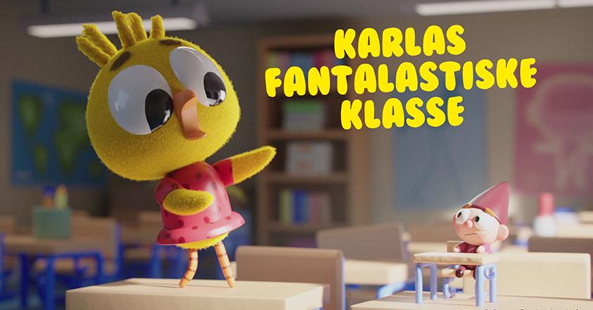 Karla's Fantalastiske Klasse